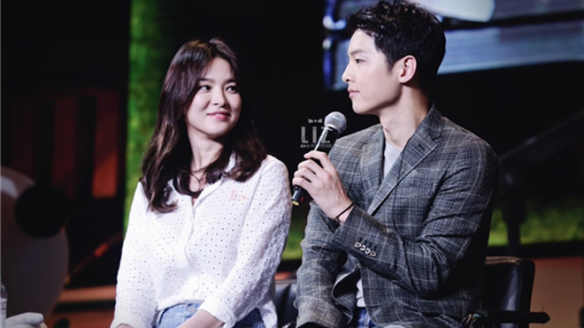 'Tâm thư' của Song Joong Ki và Song Hye Kyo: Tuyệt đỉnh 'ngôn tình'