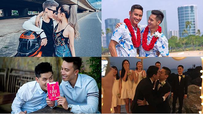 Hồ Vĩnh Khoa - Rhonee Rojas và những đám cưới đồng tính trong showbiz Việt
