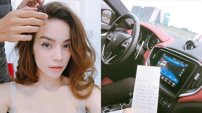 Phái đẹp 'phát hờn' trước sự ngọt ngào Kim Lý dành cho Hà Hồ