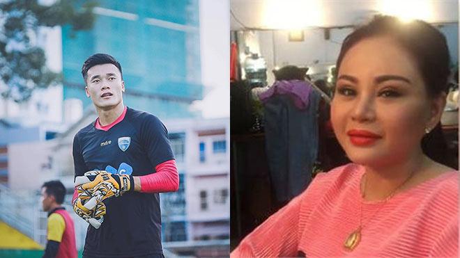 VIDEO: Diễn viên Lê Giang tự 'chấm' thủ môn Bùi Tiến Dũng là con rể