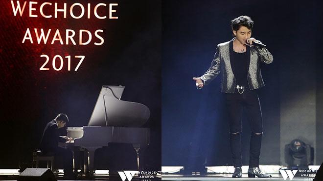 VIDEO Gala WeChoice Awards 2017: Tiết mục cảm động của bé Bôm và Sơn Tùng M-TP