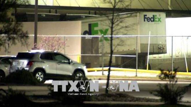 Lại thêm 1 vụ nổ bưu kiện tại bang Texas