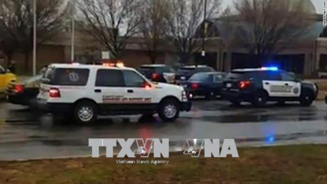 Nổ súng tại trường trung học bang Maryland, Mỹ