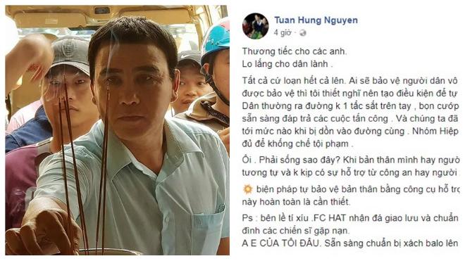 Sao Việt kêu gọi ủng hộ hai hiệp sĩ đường phố Sài Gòn