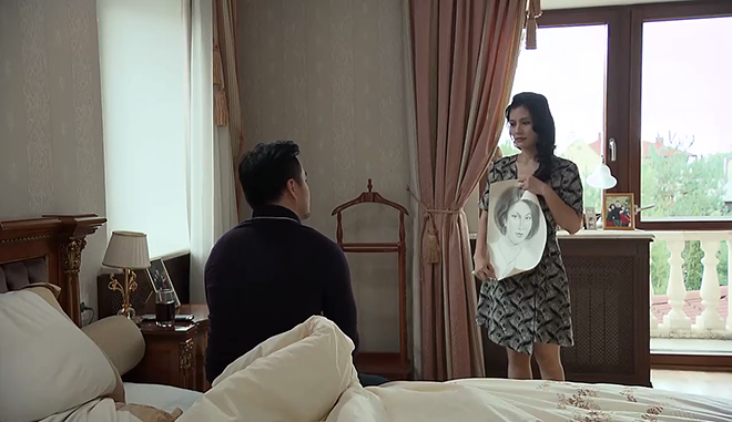 'Tình khúc Bạch Dương' tập 31: Hùng 'tự thú' với vợ đã gặp lại người tình