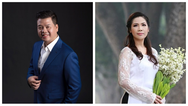 Đăng Dương và Hồng Vy hát trong đêm nhạc 'Tình yêu và đam mê'