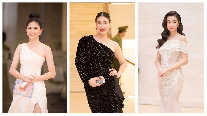 Dàn sao lộng lẫy trên thảm đỏ đêm Chung khảo Hoa hậu Việt Nam 2018