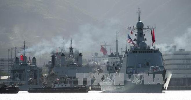 Hải quân nhân dân Việt Nam tham gia diễn tập vành đai Thái Bình Dương 2018