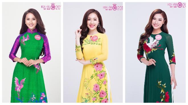 Chùm ảnh: Người đẹp Hoa hậu Việt Nam 2018 khoe đường cong hoàn mỹ