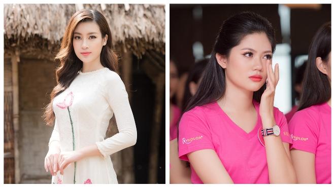 Người đẹp Hoa hậu Việt Nam 2018 rưng rưng xúc động khi về thăm làng Sen quê Bác