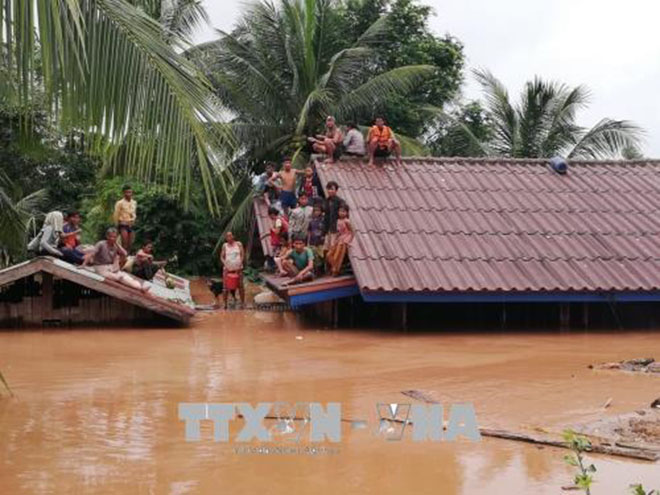 Vỡ đập thủy điện tại lào, Vỡ đập thủy điện, vỡ đập ở Lào, đập thủy điện Lào, vỡ đập thủy điện ở Lào, thủy điện, Lào, Thủy điện Lào, đập thủy điện, vỡ đập
