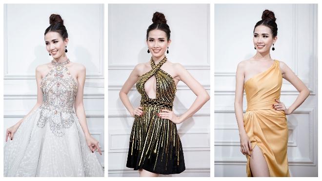Phan Thị Mơ chọn đồ gợi cảm dự thi Hoa hậu Đại sứ Du lịch Thế giới 2018
