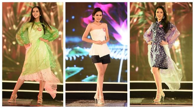Chung khảo phía Bắc Hoa hậu Việt Nam 2018: Mặc áo mưa tổng duyệt, thí sinh vẫn 'đẹp bất chấp'