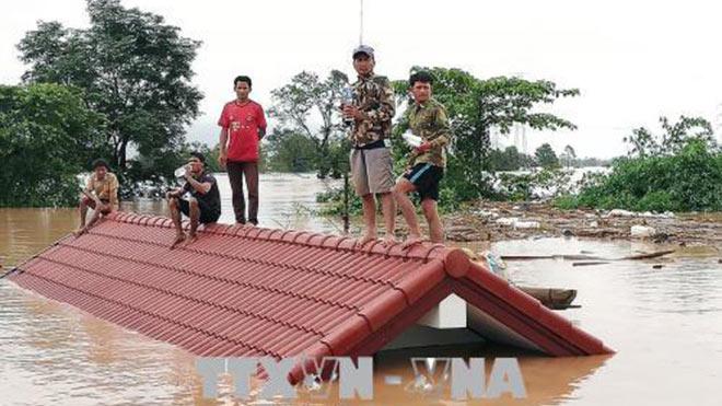 CẬP NHẬT vỡ đập thủy điện ở Lào: Người dân hạ lưu nhận thông báo sơ tán trước khi xảy ra sự cố