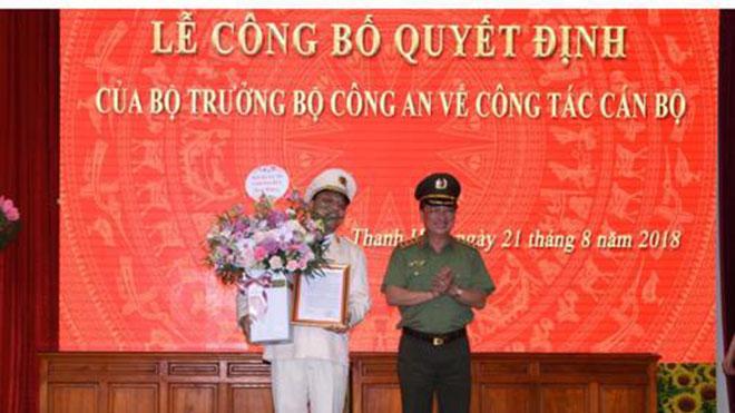 Công bố quyết định bổ nhiệm Giám đốc Công an tỉnh Thanh Hóa
