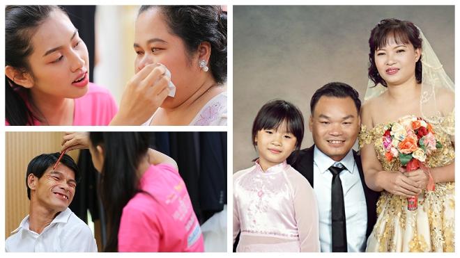 Người đẹp 'Hoa hậu Việt Nam 2018' tổ chức chụp ảnh cưới cho 15 cặp đôi khuyết tật