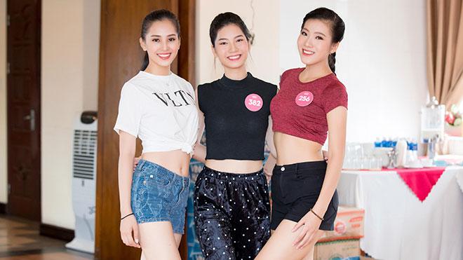 Hoa hậu Việt Nam 2018: Người đẹp hai miền hội tụ 'đọ sắc' tại Tuần Châu