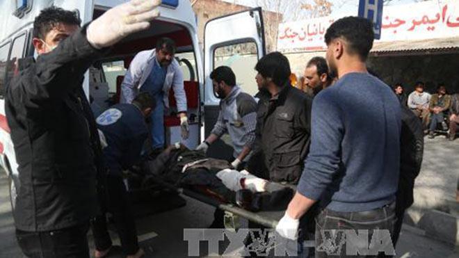 Afghanistan: Con số thương vong tăng mạnh trong vụ đánh bom liều chết tại thủ đô Kabul