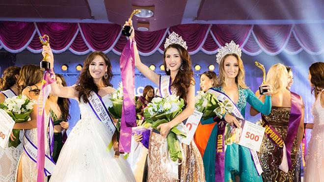 VIDEO: Khoảnh khắc Phan Thị Mơ đăng quang Hoa hậu Đại sứ Du lịch thế giới 2018