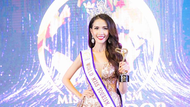 VIDEO: Phan Thị Mơ trả lời ứng xử tại Chung kết Hoa hậu Đại sứ Du lịch thế giới 2018