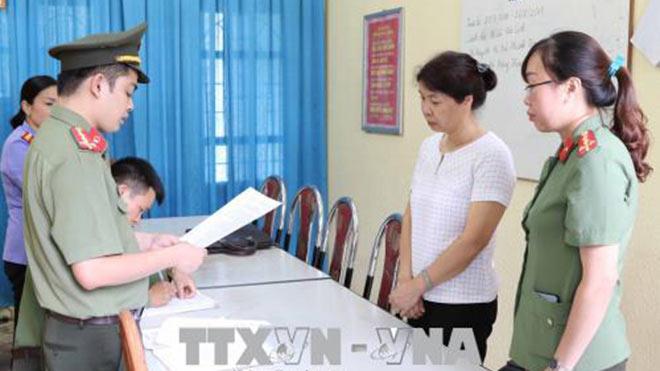 Sơn La: Khởi tố bị can thêm một đối tượng liên quan đến sai phạm trong kỳ thi THPT quốc gia 2018