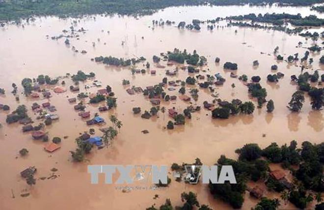 Vỡ đập thủy điện tại Lào: 100 người vẫn mất tích và phải mất nhiều năm mới khắc phục xong sự cố
