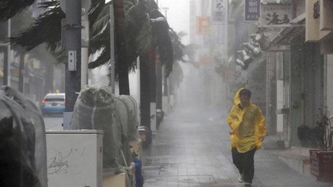 Bão Trami đổ bộ Nhật Bản: Dự báo tâm bão sẽ tiến gần tới thành phố Osaka