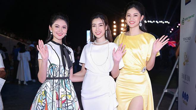 Thảm đỏ đêm thời trang 3 Hoa hậu Việt Nam 2018 hội tụ những nhan sắc ngọt ngào