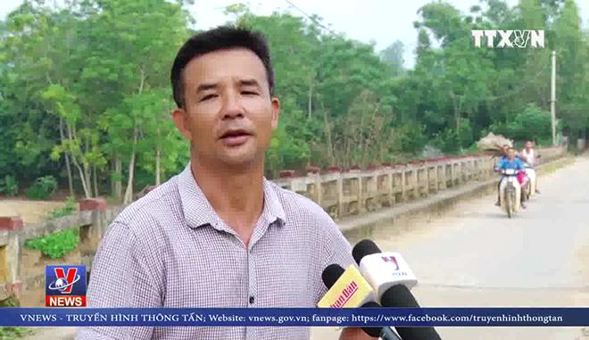 VIDEO: Mưa lũ cuốn trôi 2 cây cầu tại Phú Thọ