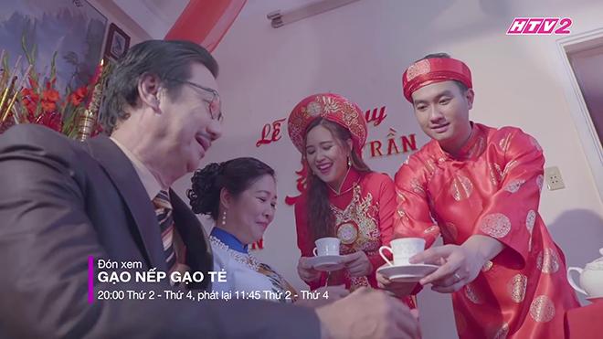 'Gạo nếp gạo tẻ' tập 72: Minh và Nhân kết hôn, bà Mai phản đối Hương ra mắt Tường
