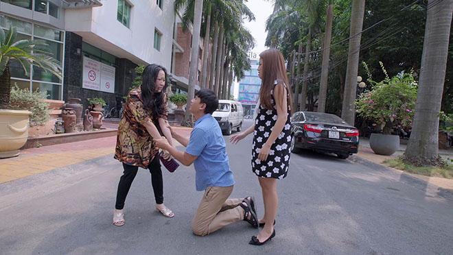 VIDEO 'Gạo nếp gạo tẻ' tập 73: Mặc con gái có bầu, bà Linh một mực ngăn cản Trinh lấy chú Quang
