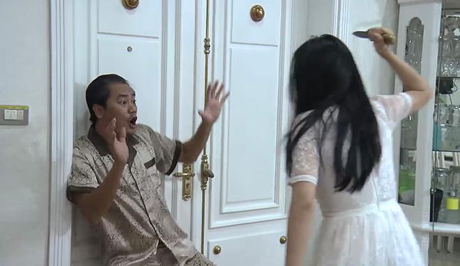 VIDEO 'Quỳnh búp bê' tập cuối: Quỳnh trả thù bố dượng nhưng bị dao đâm trúng bụng