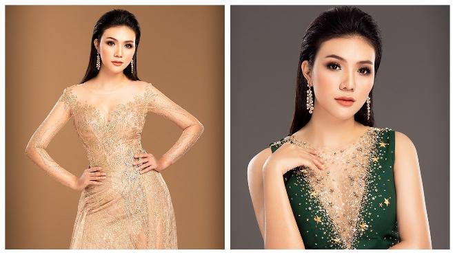 Á khôi Giao Linhthi Hoa hậu Du lịch quốc tế 2018