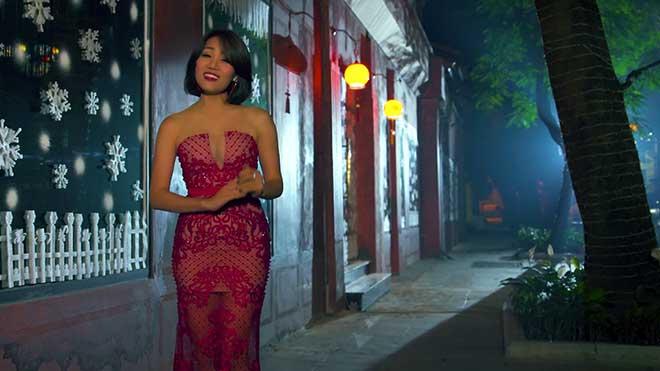VIDEO Ca sĩ Minh Thu tặng fan MV 'Bài thánh ca buồn' mùa Giáng sinh