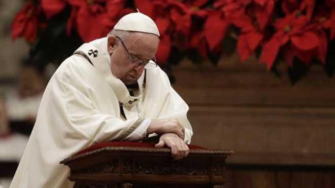 Giáo hoàng Francis cầu nguyện cho hòa bình thế giới, kêu gọi con người hãy sẻ chia hơn