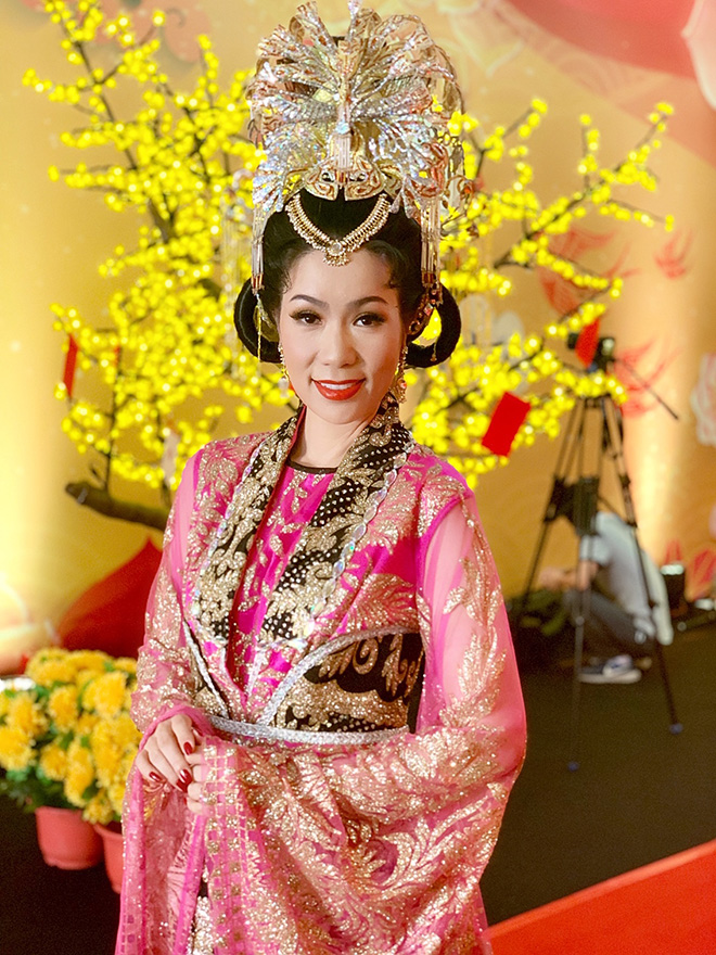 Trịnh Kim Chi, Á hậu Trịnh Kim Chi, thiên hậu, táo quân 2019, táo quân, táo quân HTV9