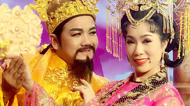 Táo quân HTV9:Á hậu Trịnh Kim Chi lần thứ 4 'hóa' Thiên Hậu