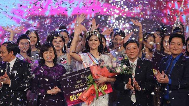 'Người đẹp Kinh Bắc 2019': Nguyễn Thị Thu Phương đăng quang tại miền quan họ