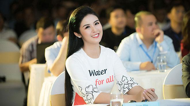 Hoa hậu Ngọc Hân trở thành đại sứ của 'Ngày nước thế giới 2019'