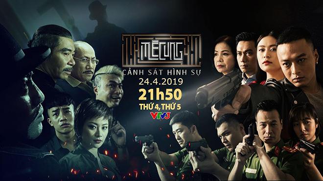 Lịch phát sóngphim cảnh sát hình sự 'Mê cung' tập 1 (21h40 ngày 24/4, VTV3)