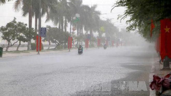 Bắc bộ có mưa và dông diện rộng trong dịp Giỗ tổ Hùng Vương