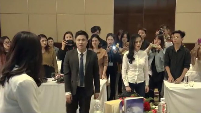 'Nàng dâu order' tập 2: Hôn nhân Lam Lam sóng gió vì... bà nội và người yêu cũ của chồng