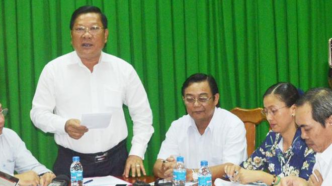 Sóc Trăng: Thông tin Phó Bí thư Tỉnh ủy đi nước ngoài theo lời mời của Trịnh Sướng là chưa chính xác