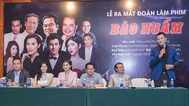 Lão Cấn của 'Quỳnh búp bê' và Hà Việt Dũng 'tái xuất' trong series phim hình sự 'Bão ngầm'