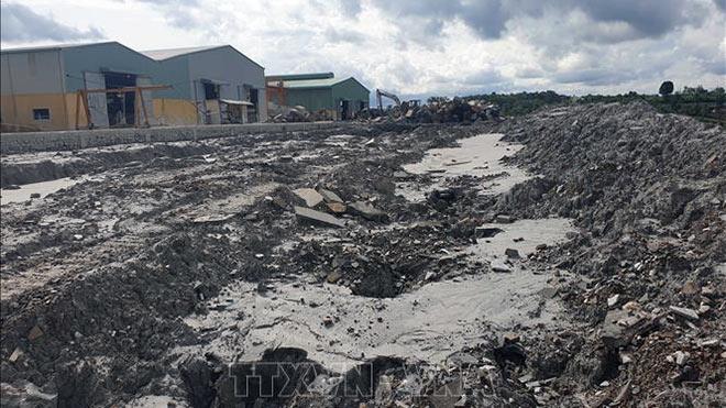 Đắk Nông: Bồi thường cho người dân bị thiệt hại do vỡ đập chứa nước thải