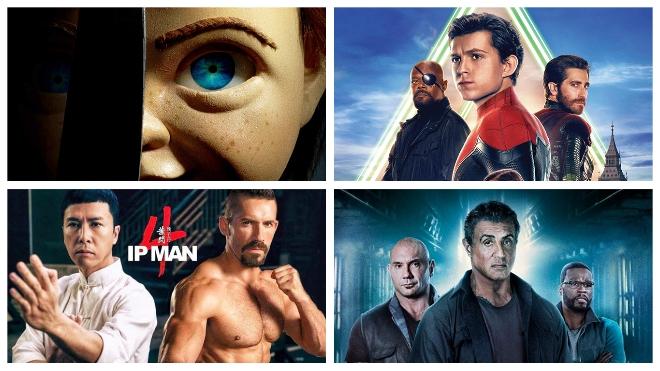 Phim chiếu rạp tháng 7: Hai phim Việt cạnh tranh 'Người nhện', 'Búp bê sát nhân', 'Diệp vấn'