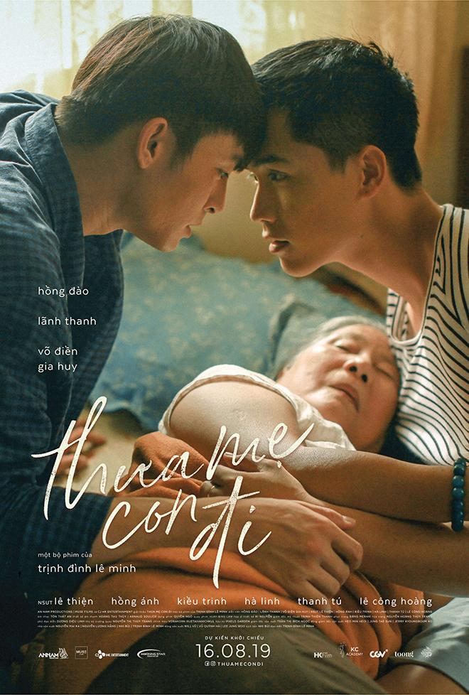 Thưa mẹ con đi, Trailer chính thức Thưa mẹ con đi, Phim Thưa mẹ con đi, phim đồng tính, Lãnh Thanh, Võ Điền Gia Huy, Trịnh Đình Lê Minh, lịch chiếu thưa mẹ con đi