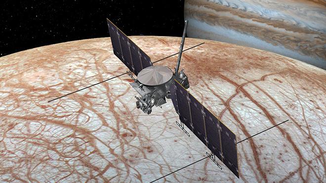 NASA chính thức khởi động sứ mệnh thám hiểm mặt trăng của Sao Mộc