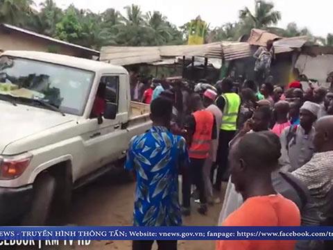 VIDEO: Cháy trường học ở Liberia, hàng chục học sinh thiệt mạng