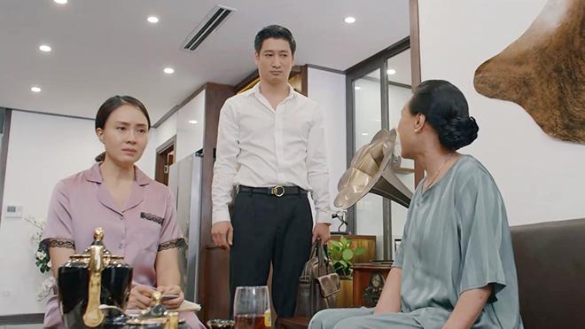 'Hoa hồng trên ngực trái'tập 9: Thái tố vợ chỉ biết ở nhà ăn, đẻ và đặt điều nói xấu chồng